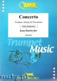 Ok�adka: Daetwyler Jean, Concerto for Trumpet and Piano