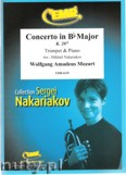 Ok�adka: Mozart Wolfgang Amadeusz, Concerto in Bb Major (partytura + g�osy)