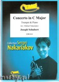 Ok�adka: Schubert Joseph, Concerto in C Major (partytura + g�osy)