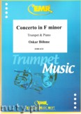 Okładka: Böhme Oscar, Concerto in F minor (partytura + głosy)