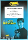 Ok�adka: Mozart Wolfgang Amadeusz, Concerto in G Major (partytura + g�osy)