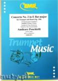 Okładka: Ponchielli Amilcare, Concerto N° 2 E flat Major (partytura + głosy)