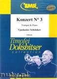 Ok�adka: Schelokov Vjacheslav, Konzert N� 3 (partytura + g�osy)