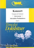 Okładka: Pachmutova Alexandra, Konzert (partytura + głosy)