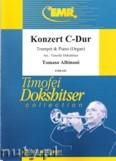 Okładka: Albinoni Tomaso, Konzert C-Dur (partytura + głosy)