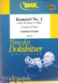 Okładka: Peskin Vladimir, Konzert Nr. 1 c-moll