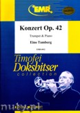 Okładka: Tamberg Eino, Konzert Op. 42