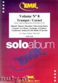 Okładka: , Volume No 8 Trumpet / Cornet (partytura + głosy)