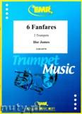 Okładka: Ifor James, 6 Fanfares (partytura + głosy)