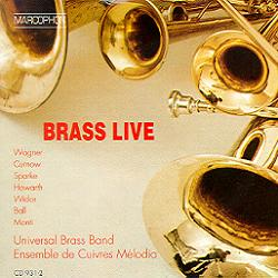 Okładka: Universal Brass Band, Brass Live