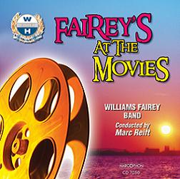 Okładka: William Fairey Band, Fairey's At The Movies