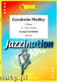 Okładka: Gershwin George, Gershwin-Medley (partytura + głosy)