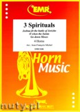 Okładka: , 3 Spirituals (score and parts)