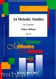 Okładka: Böhme Oscar, 24 Melodic Studies for Clarinet