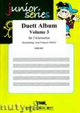 Okładka: Michel Jean-François, Duett Album Vol. 3 für 2 Klarinetten