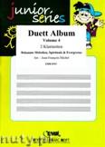 Okładka: Michel Jean-François, Duett Album Vol. 4, für 2 Klarinetten