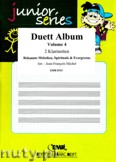 Ok�adka: Michel Jean-Fran�ois, Duett Album Vol. 4, f�r 2 Klarinetten
