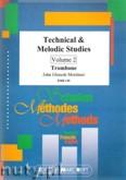 Okładka: Mortimer John Glenesk, Technical & Melodic Studies Vol. 2