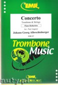Okładka: Albrechtsberger Johann Georg, Concerto (partytura + głosy)