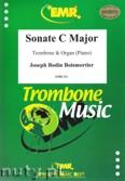 Okładka: Boismortier Joseph Bodin, Sonate C Major (partytura + głosy)