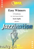 Okładka: Joplin Scott, Easy Winners for 4 Trombones (score and parts)