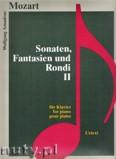 Okładka: Mozart Wolfgang Amadeusz, Sonaten, Fantasien und Rondi 2 - für Klavier