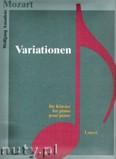 Ok�adka: Mozart Wolfgang Amadeusz, Variationen f�r Klavier