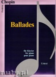 Ok�adka: Chopin Fryderyk, Ballades - piano