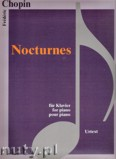Okładka: Chopin Fryderyk, Nocturnes - piano