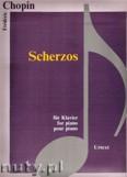 Ok�adka: Chopin Fryderyk, Scherzos - piano