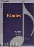 Ok�adka: Chopin Fryderyk, Etudes - piano