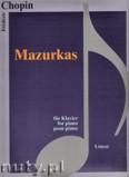Ok�adka: Chopin Fryderyk, Mazurkas - piano