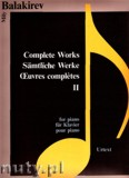 Ok�adka: Balakirev Mily, Complete Works 2 for piano