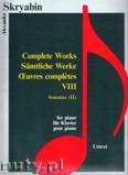 Okładka: Skriabin Aleksander, Complete Works 8, Sonatas 2 - piano