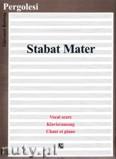 Ok�adka: Pergolesi Giovanni Battista, Stabat Mater - vocal score