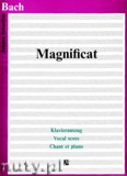Ok�adka: Bach Johann Sebastian, Magnificat - Klavierauszug