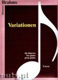 Okładka: Brahms Johannes, Variationen (piano)