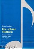 Ok�adka: Schubert Franz, Die sch�ne Mullerin op.25 - Gesang und Klavier