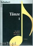 Ok�adka: Schubert Franz, T�nze 1 f�r Klavier