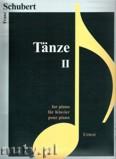 Okładka: Schubert Franz, Tänze 2 für Klavier