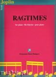 Ok�adka: Joplin Scott, Ragtimes for piano
