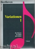 Okładka: Beethoven Ludwig van, Variationen 1 für Klavier