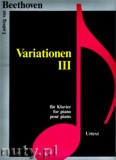 Ok�adka: Beethoven Ludwig van, Variationen 3 f�r Klavier