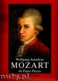 Okładka: Mozart Wolfgang Amadeusz, 44 Piano Pieces