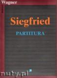 Okładka: Wagner Ryszard, Siegfried - partitura