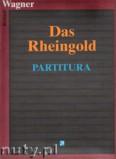 Okładka: Wagner Ryszard, Das Rheingold - partitura