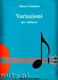 Okładka: Giuliani Mauro, Variazioni per chitarra