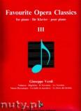Okładka: Verdi Giuseppe, Favourite Opera Classics 3 - piano