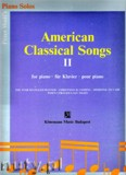 Ok�adka: Wolf P�ter, American Classical Songs 2 - piano