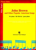 Ok�adka: Wolf P, John Brown and Other Popular American Songs (piano)